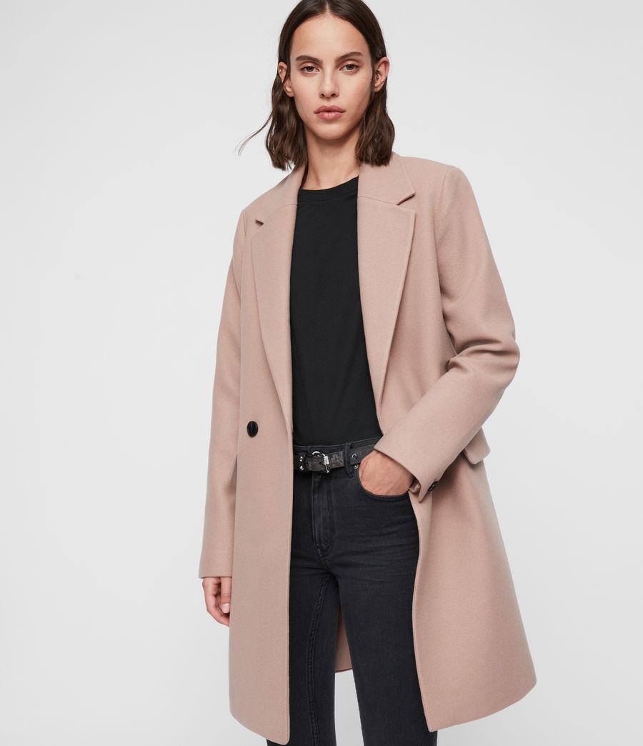 Womens Dree Teco Coat (black) - Image 1