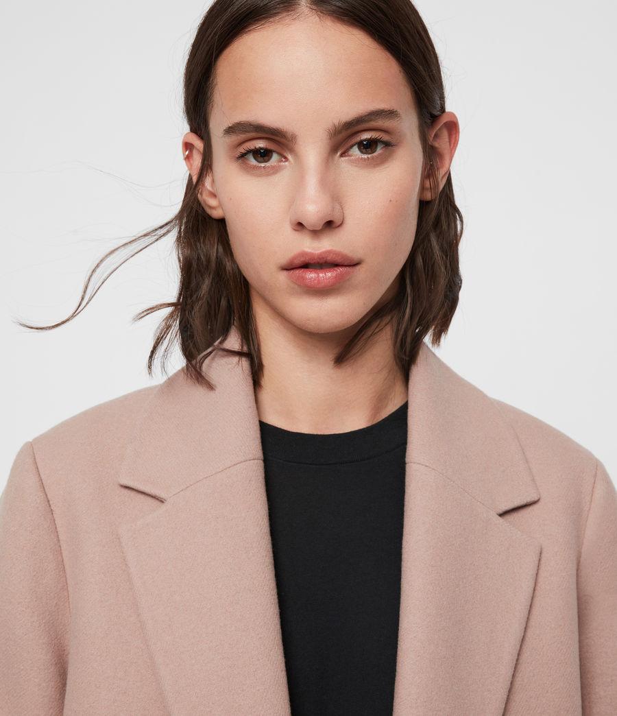 Womens Dree Teco Coat (black) - Image 2