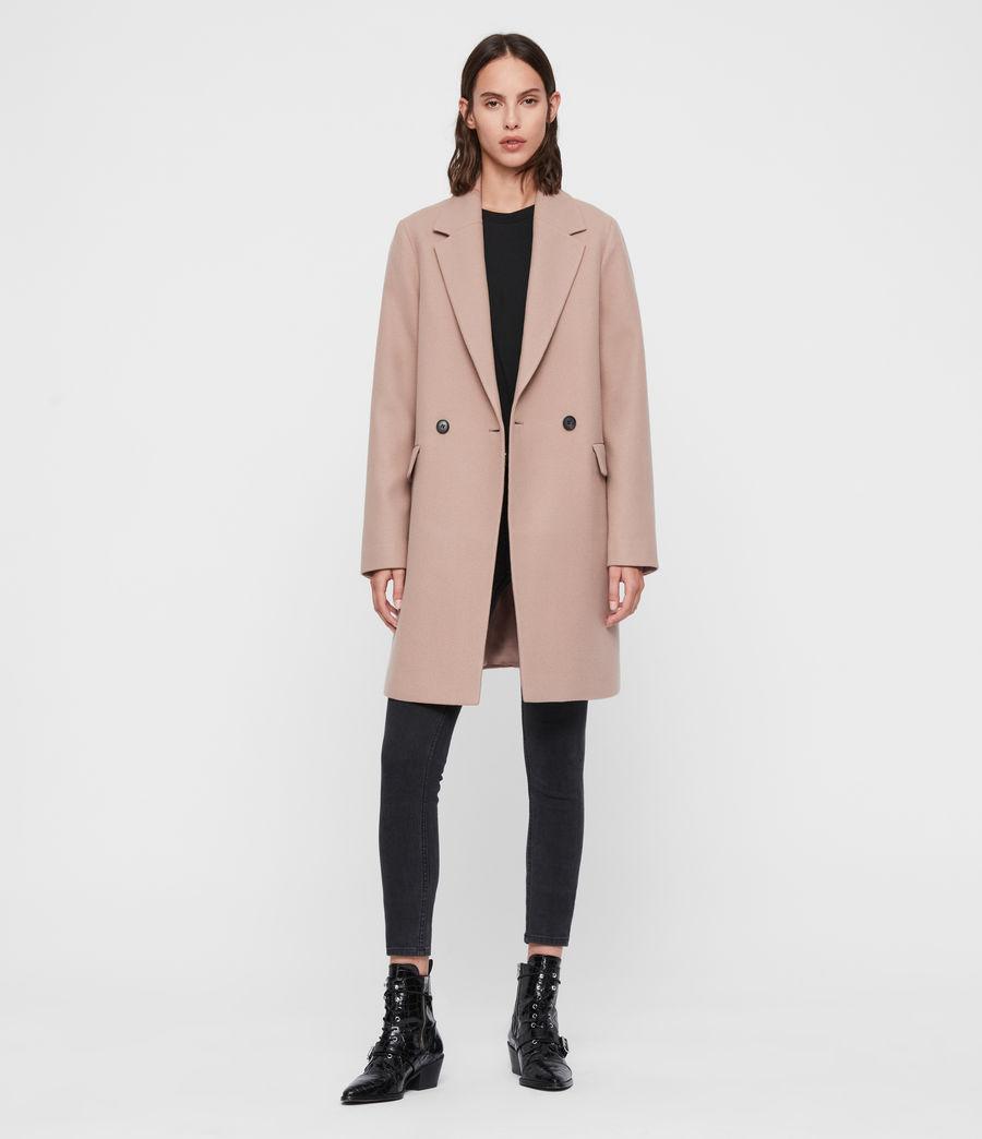 Womens Dree Teco Coat (black) - Image 3