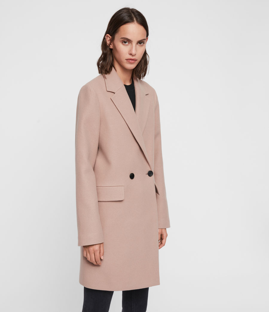 Womens Dree Teco Coat (black) - Image 4