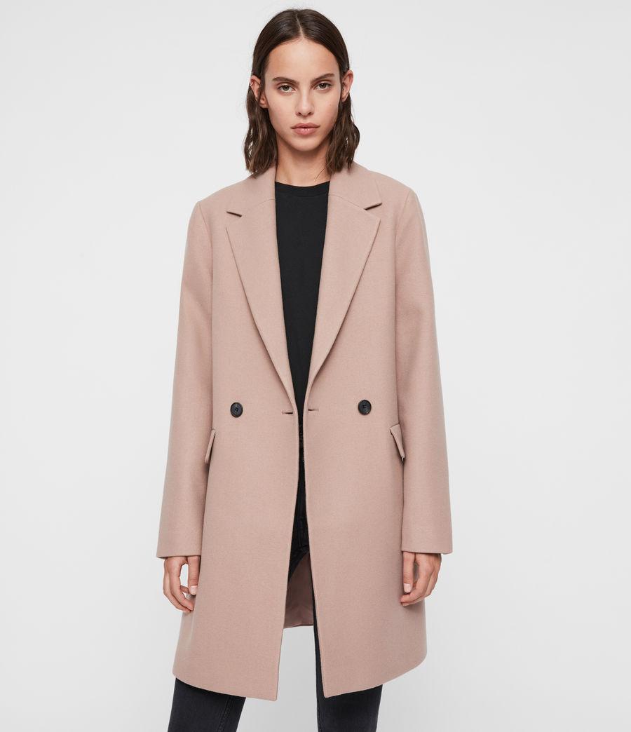 Womens Dree Teco Coat (black) - Image 6