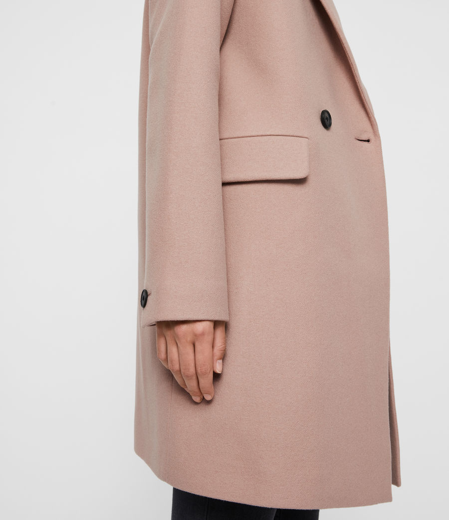 Womens Dree Teco Coat (black) - Image 7