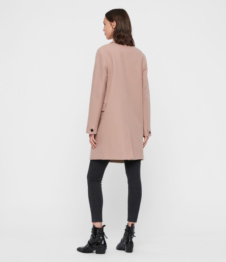 Womens Dree Teco Coat (black) - Image 8