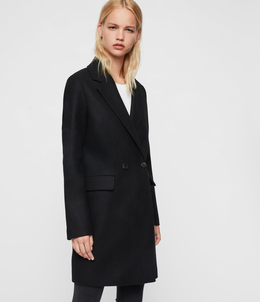 Womens Dree Teco Coat (black) - Image 3