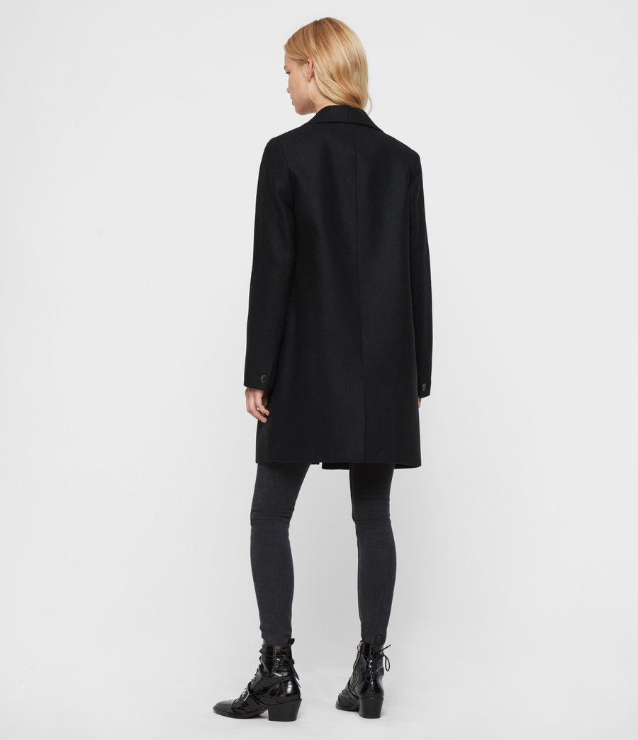 Womens Dree Teco Coat (black) - Image 5