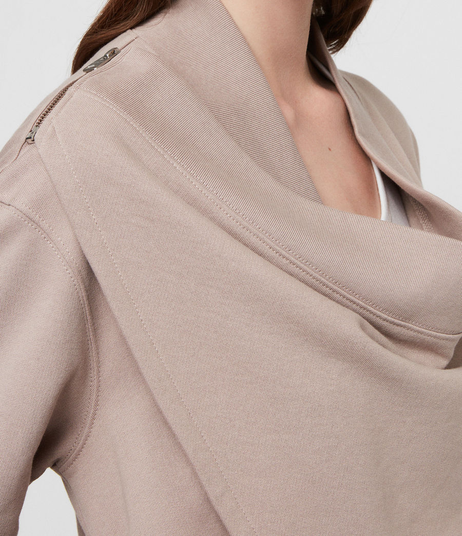Women's Drina Drape Jacket (silver_grey) - Image 2