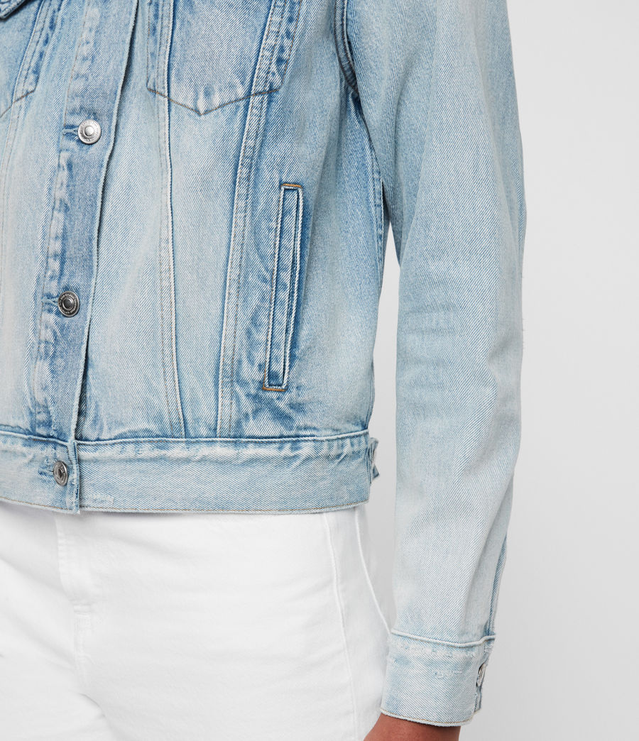 Women's Sheyla Denim Jacket (indigo_blue) - Image 5