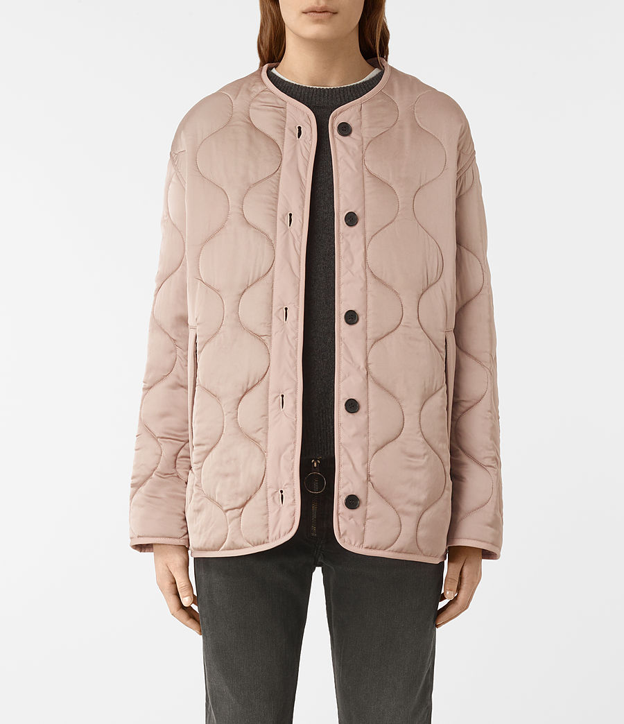 Women's Hayes Jacket (dusty_pink) - Image 2