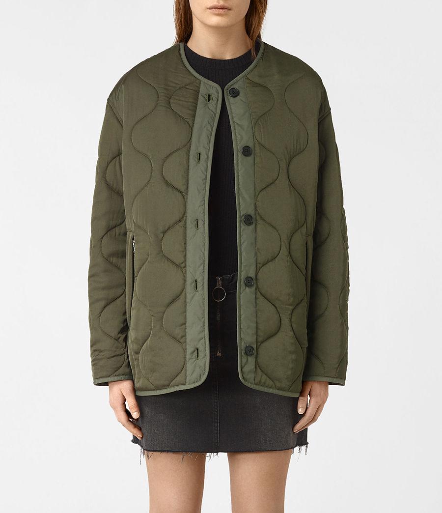 Donne Hayes Jacket (khaki_green) - Image 3