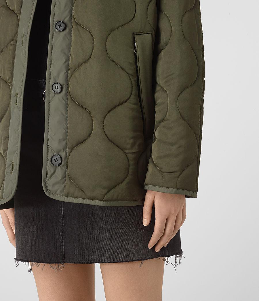 Donne Hayes Jacket (khaki_green) - Image 4
