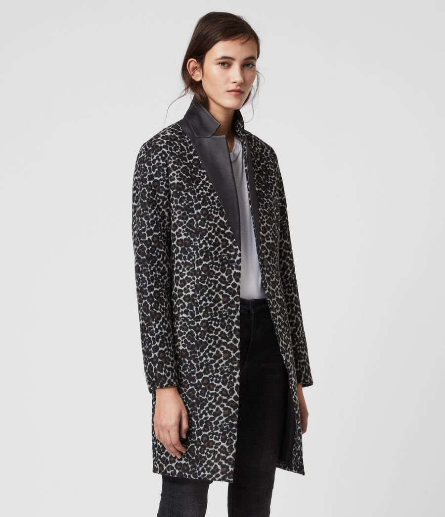 Women's Leni Leo Coat (brown) - Image 3