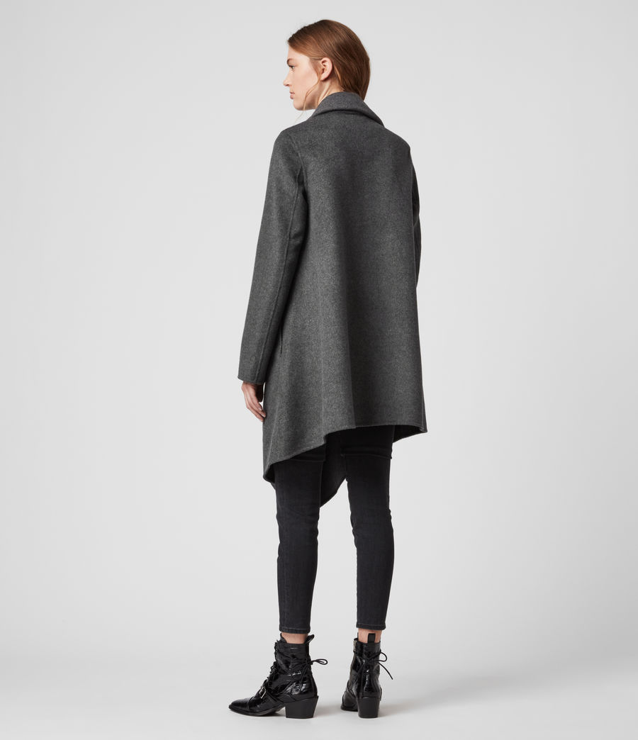 Women's Monument Eve Coat (charcoal_grey) - Image 6