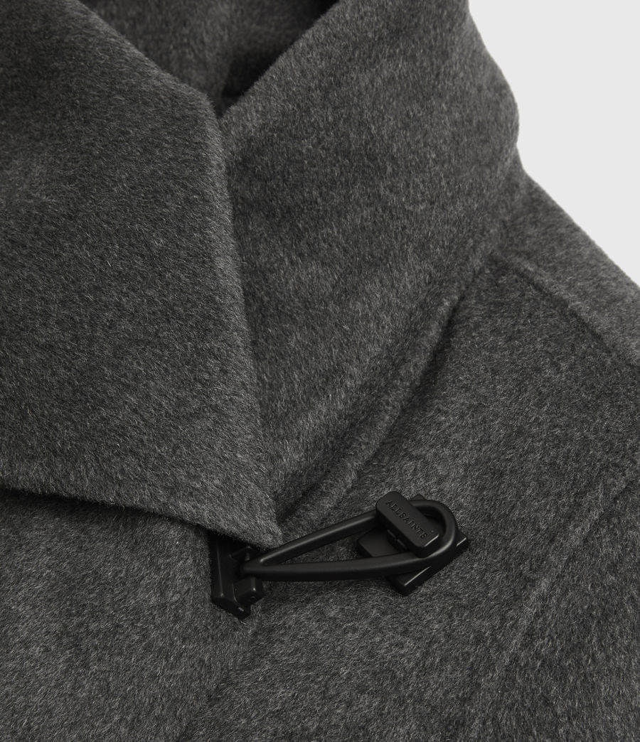 Womens Monument Eve Coat (charcoal_grey) - Image 7