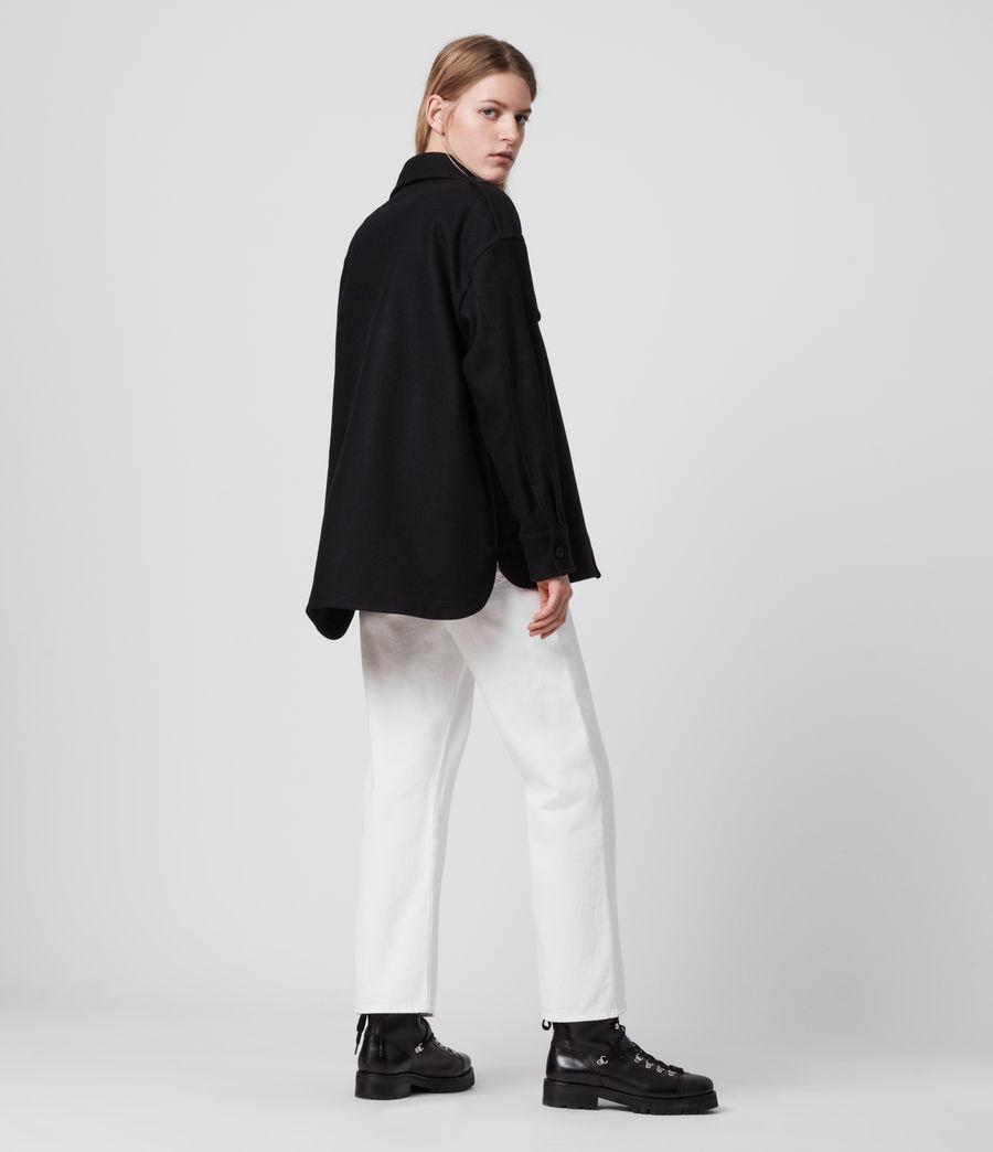 Womens Emery Cashmere Blend Jacket (black) - Image 6