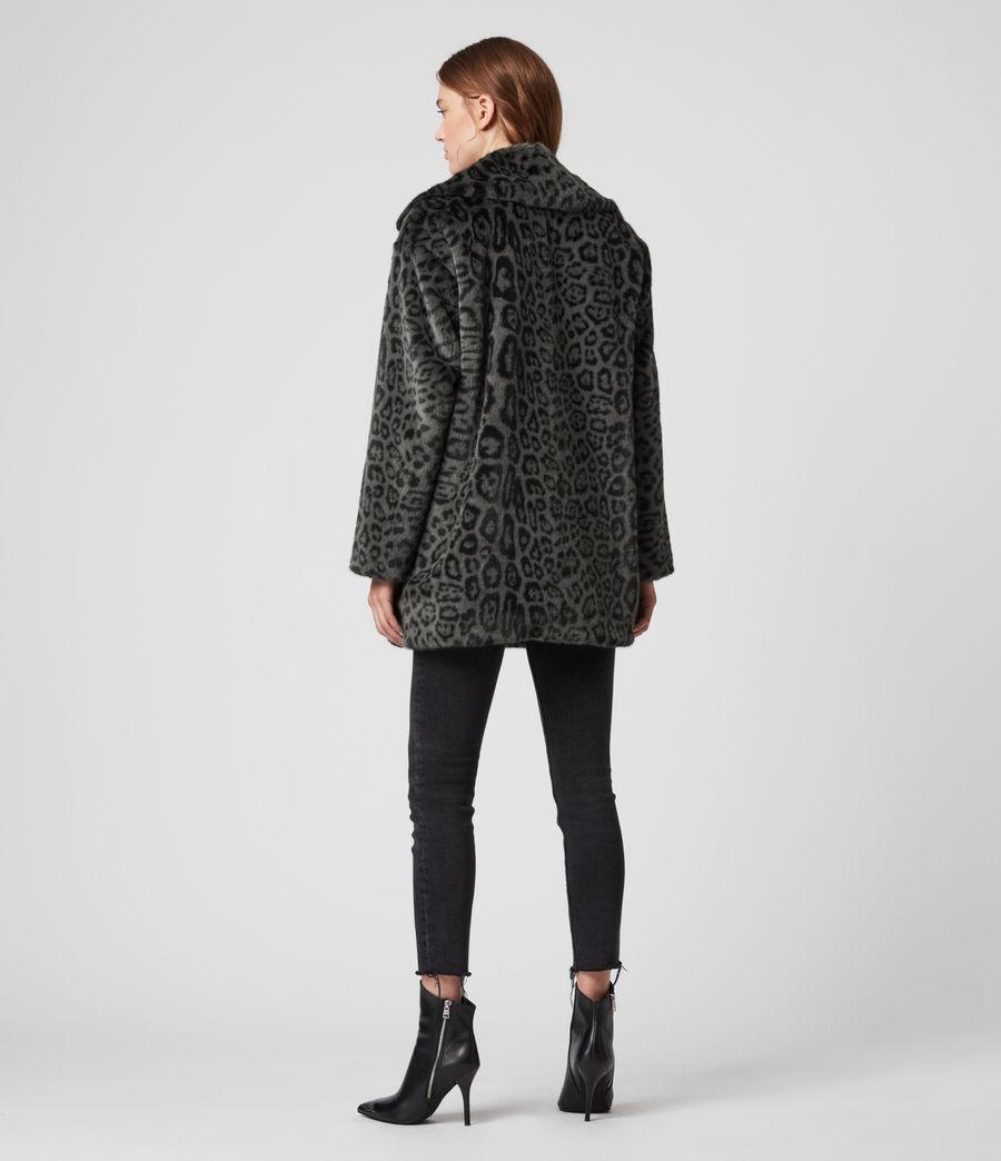 Womens Amice Leopard Jacket (grey) - Image 5