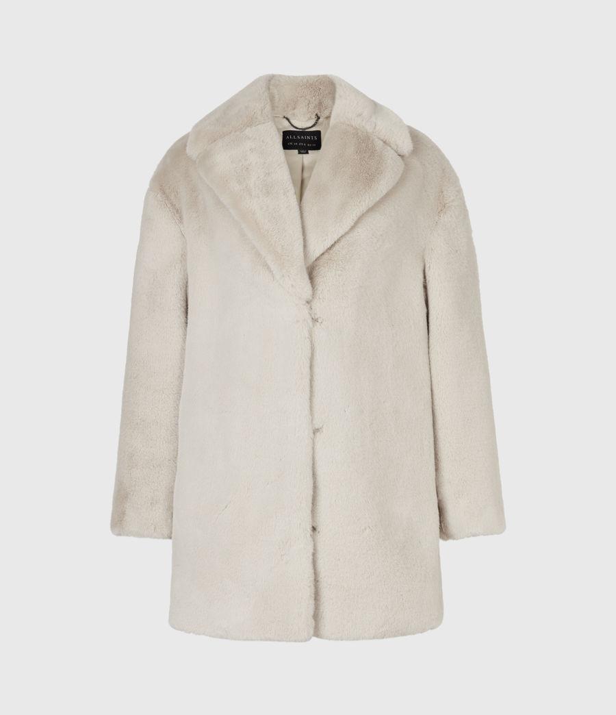 Women's Amice Faux Fur Jacket (hazelnut_brown) - Image 2