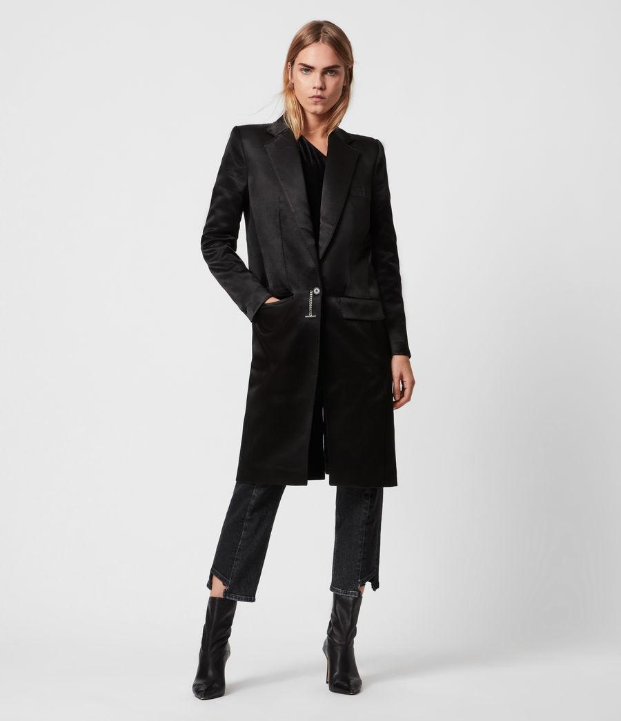 Womens Mia Coat (black) - Image 1