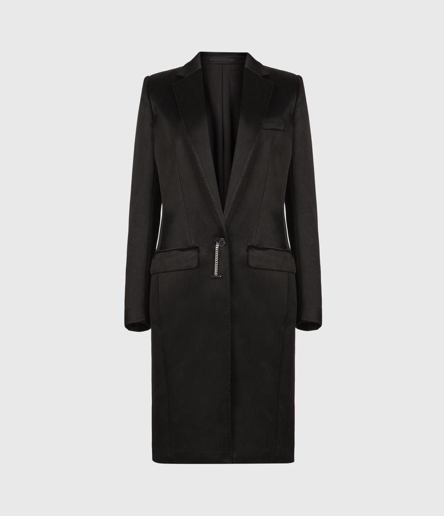 Womens Mia Coat (black) - Image 2