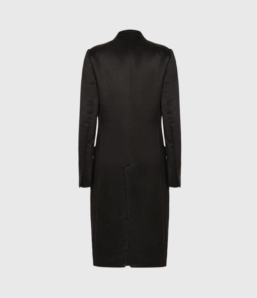 Womens Mia Coat (black) - Image 3