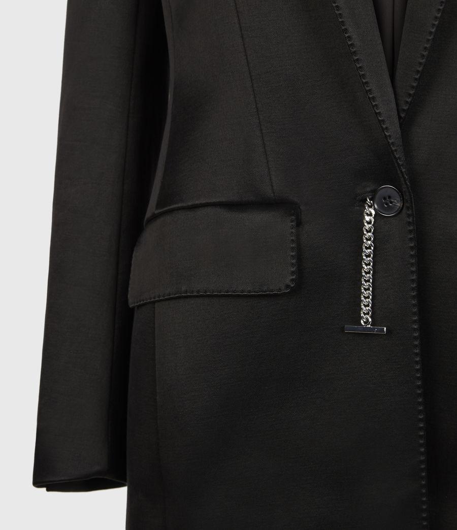 Womens Mia Coat (black) - Image 6