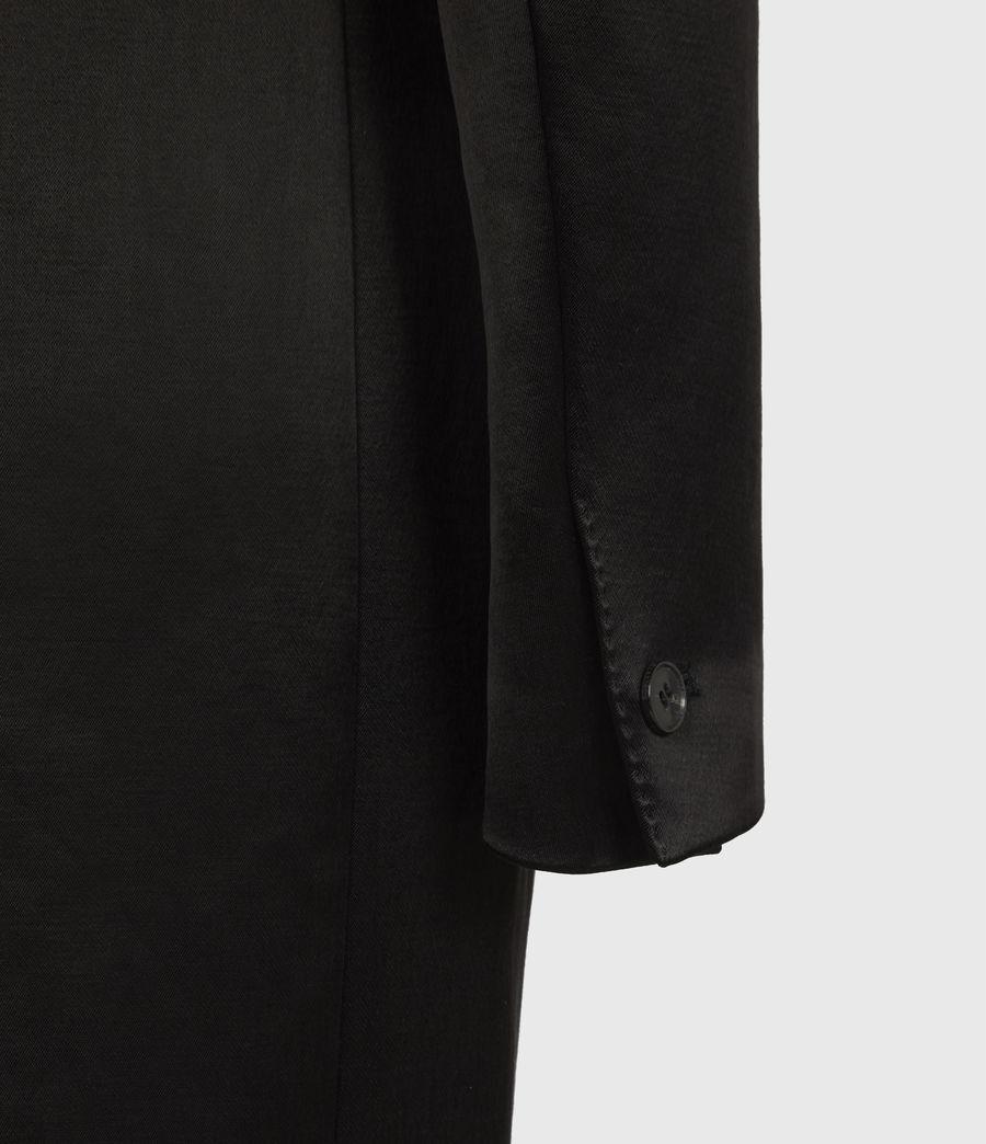 Womens Mia Coat (black) - Image 7