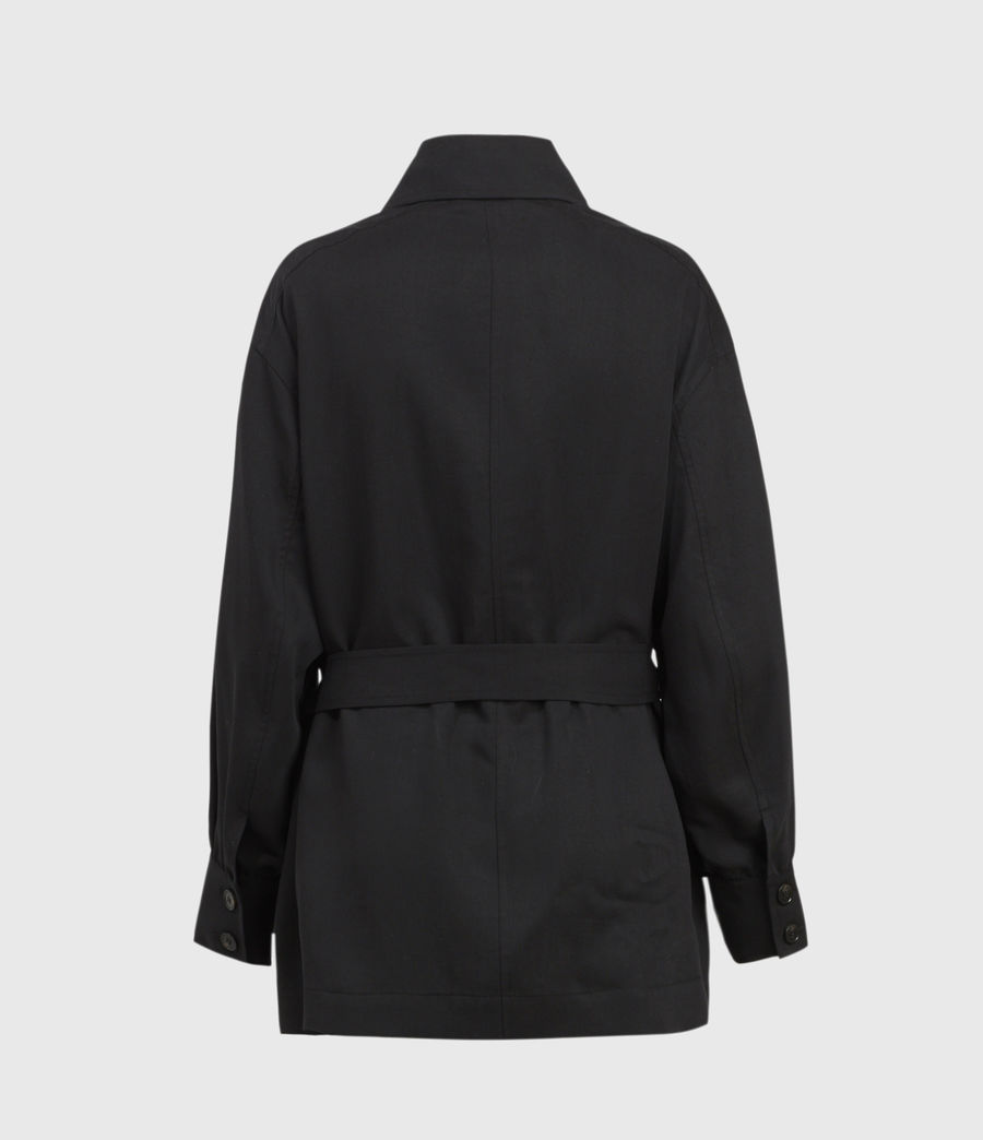 Womens Jax Jacket (black) - Image 2