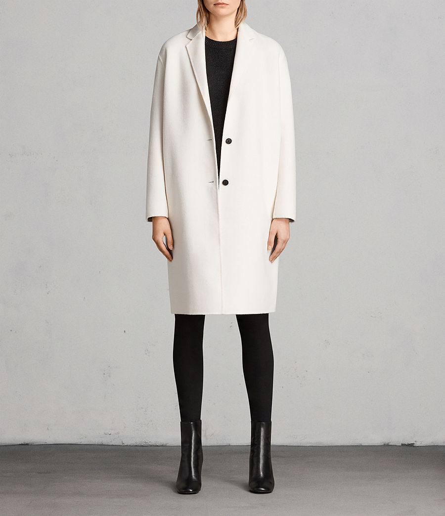 Donne Cappotto Anya (porcelain_white) - Image 1