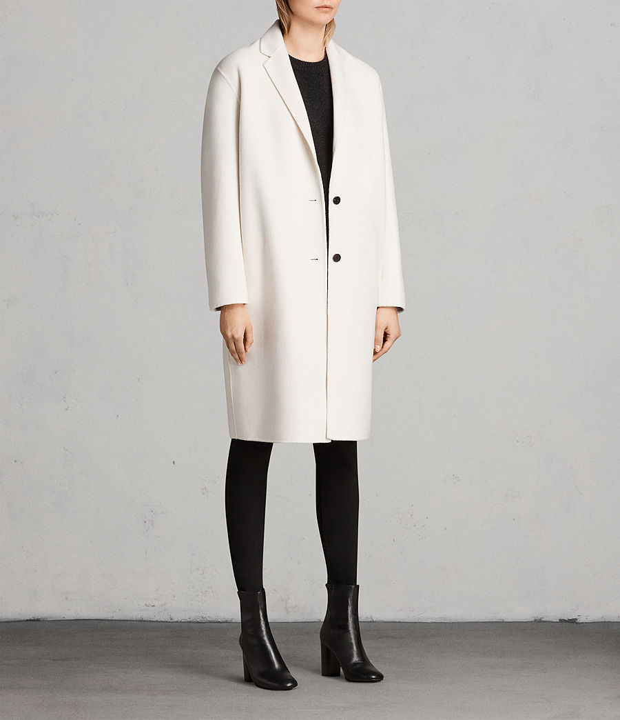 Donne Cappotto Anya (porcelain_white) - Image 3