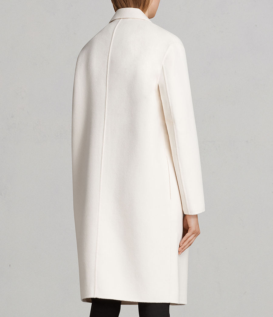 Donne Cappotto Anya (porcelain_white) - Image 6