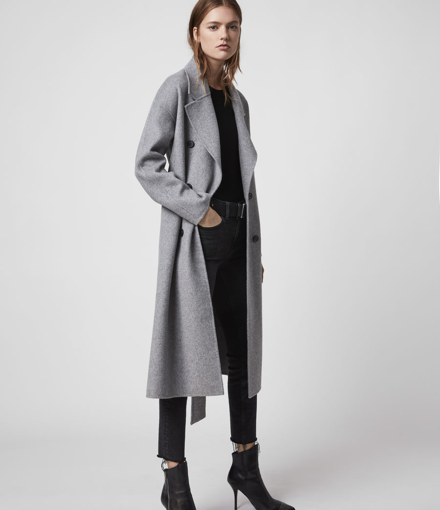 Women's Maddison Coat (black) - Image 1