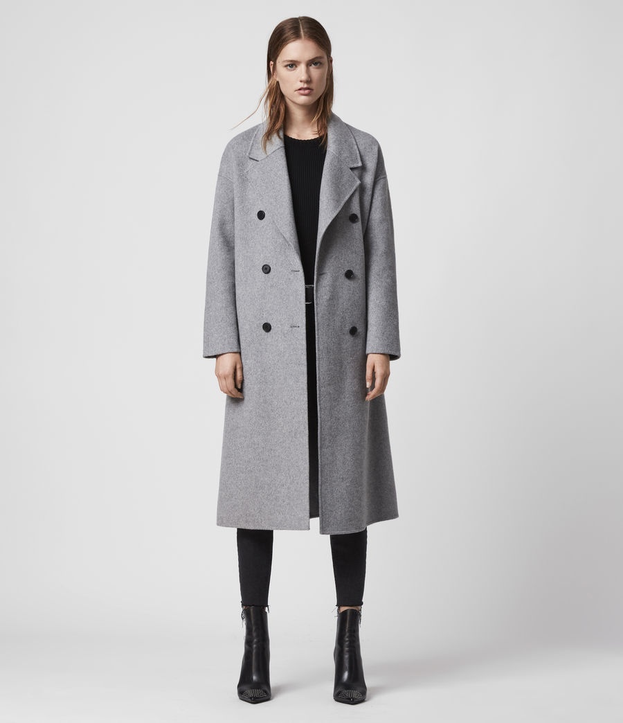 Womens Maddison Coat (black) - Image 3