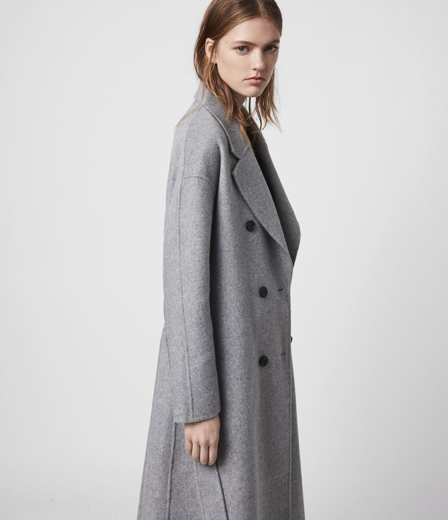 Women's Maddison Coat (black) - Image 4