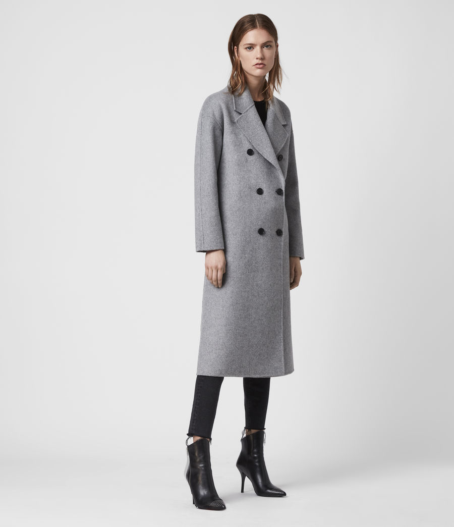 Womens Maddison Coat (black) - Image 6