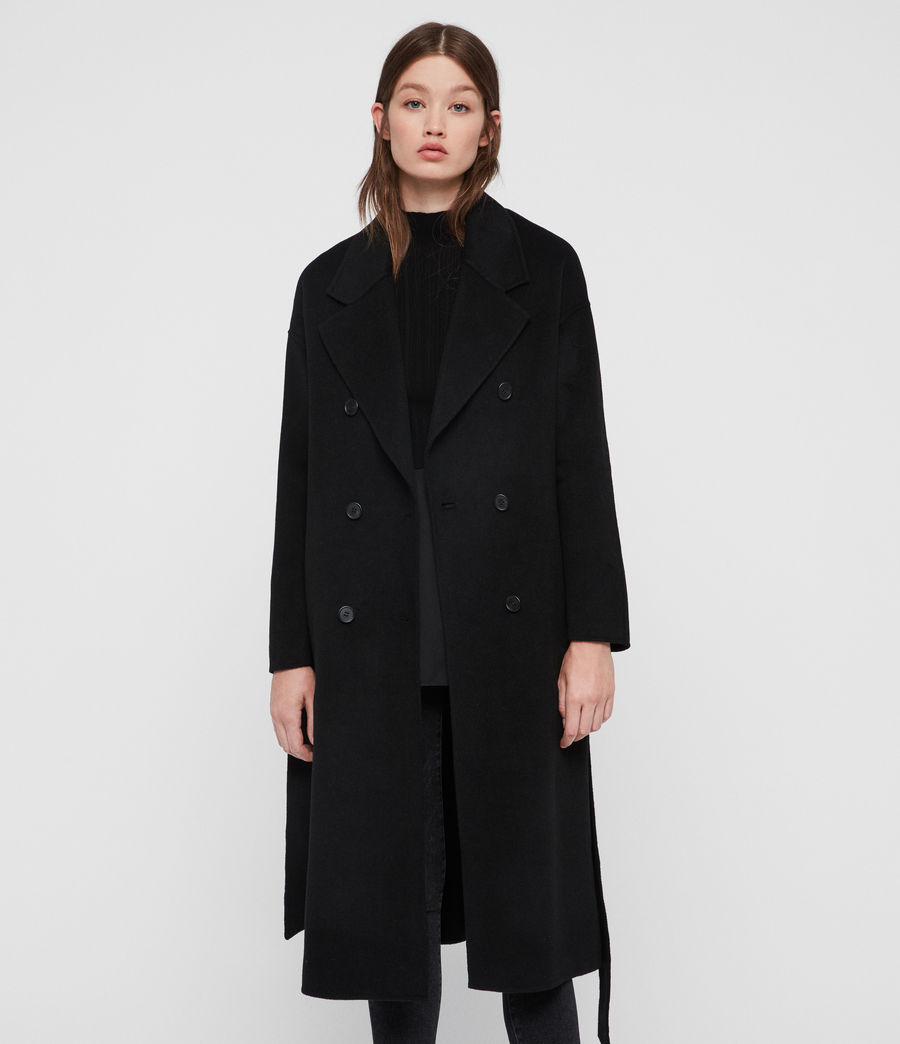 Womens Maddison Coat (black) - Image 1