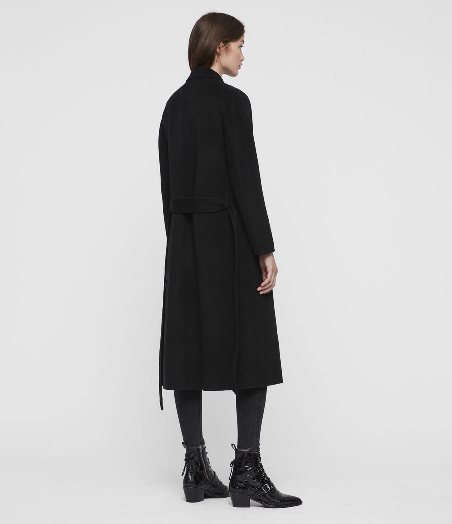 Womens Maddison Coat (black) - Image 7