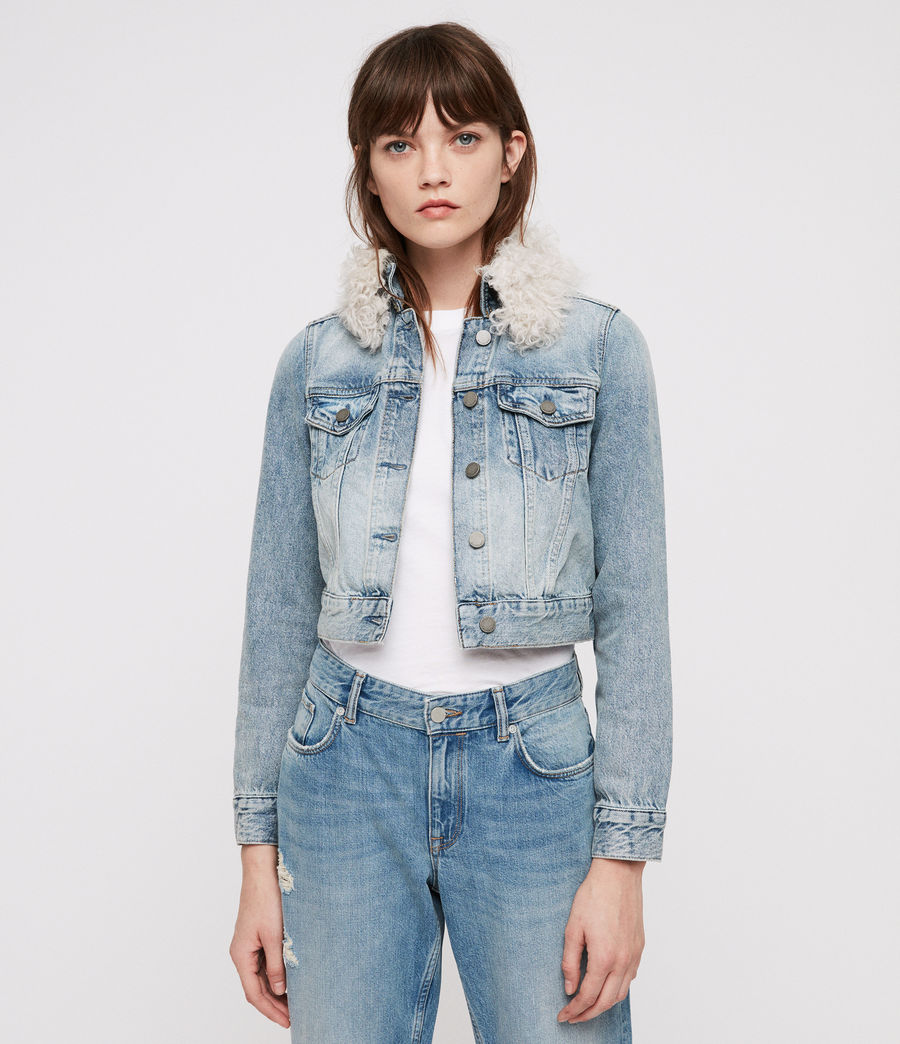 Donne Giacca di Jeans Jones (indigo_blue) - Image 1
