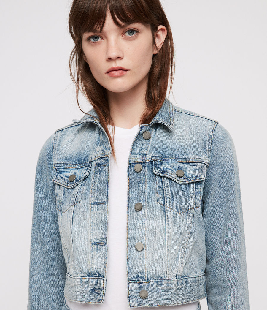 Donne Giacca di Jeans Jones (indigo_blue) - Image 2