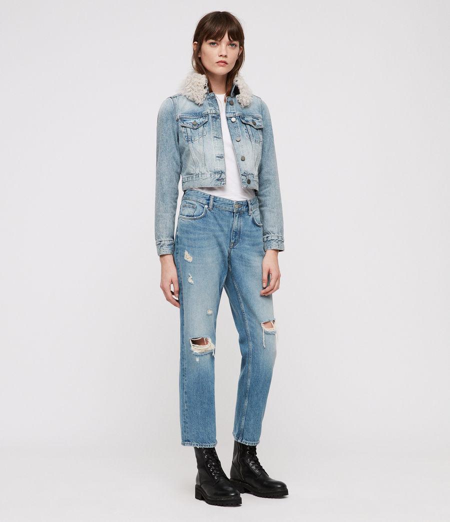 Donne Giacca di Jeans Jones (indigo_blue) - Image 3