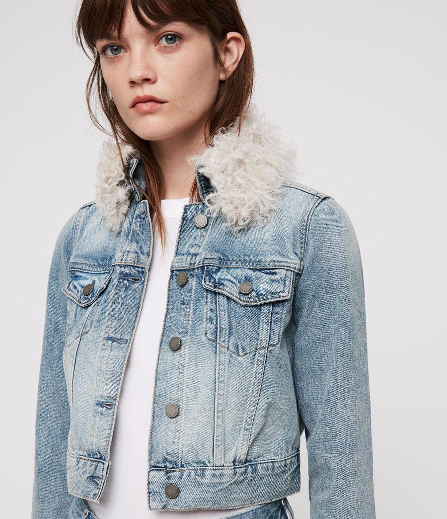Donne Giacca di Jeans Jones (indigo_blue) - Image 4