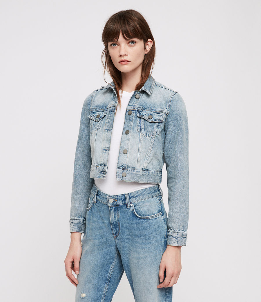 Donne Giacca di Jeans Jones (indigo_blue) - Image 5