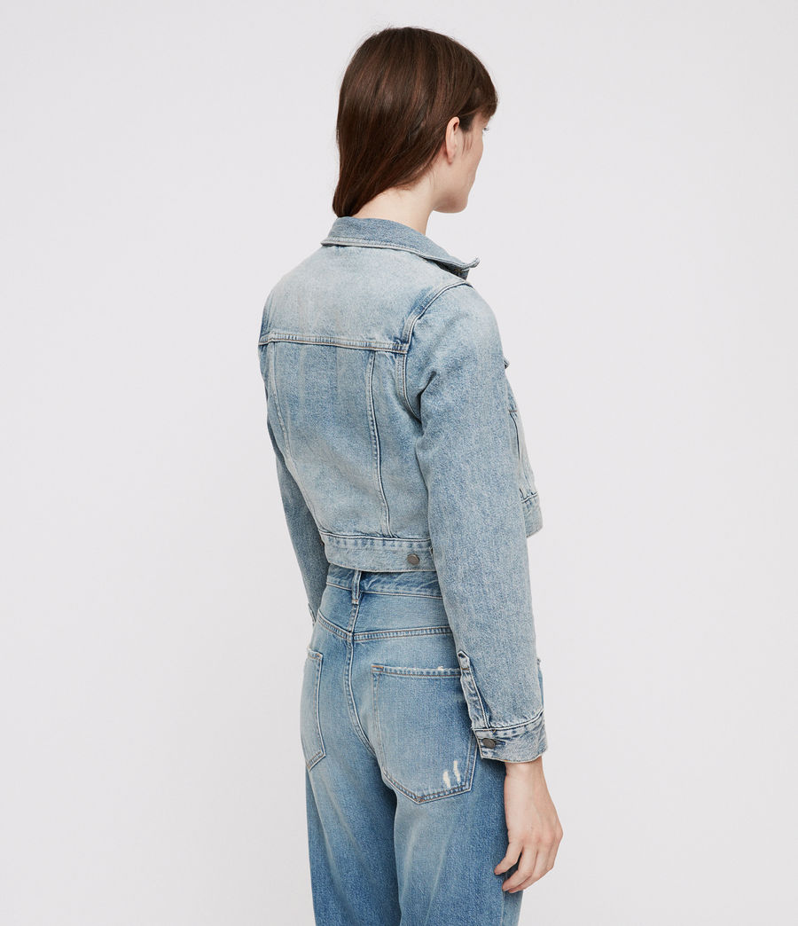 Donne Giacca di Jeans Jones (indigo_blue) - Image 6
