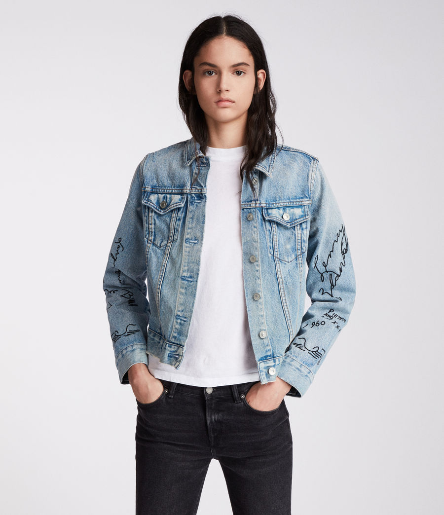 Women's Graff Hay Jacket (indigo_blue) - Image 4
