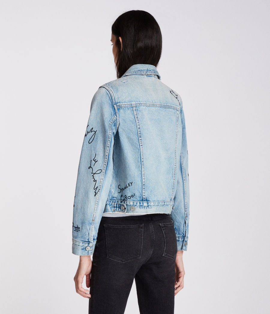 Women's Graff Hay Jacket (indigo_blue) - Image 7