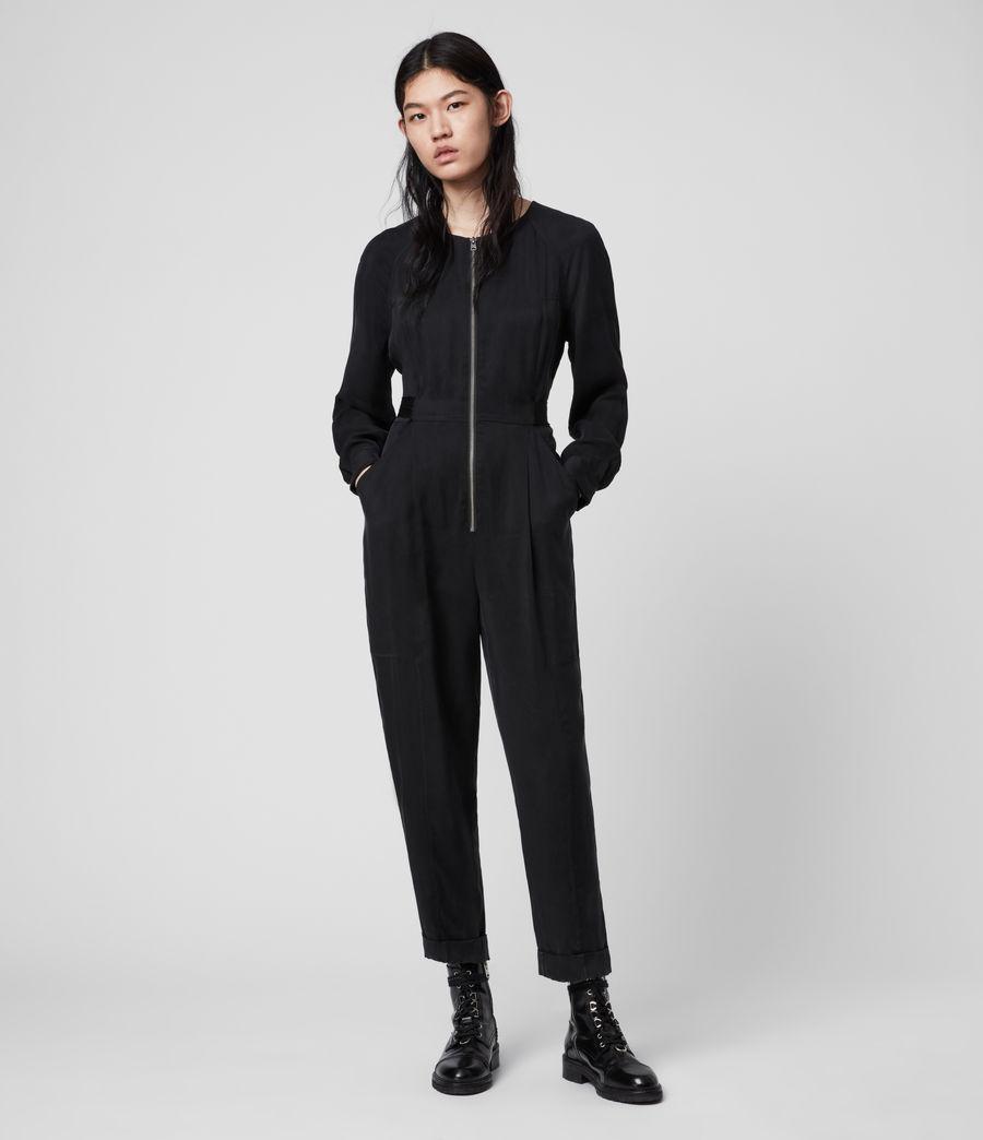 Women's Erin Jumpsuit (black) - Image 1