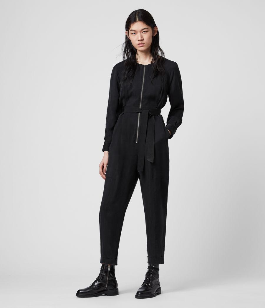 Women's Erin Jumpsuit (black) - Image 4