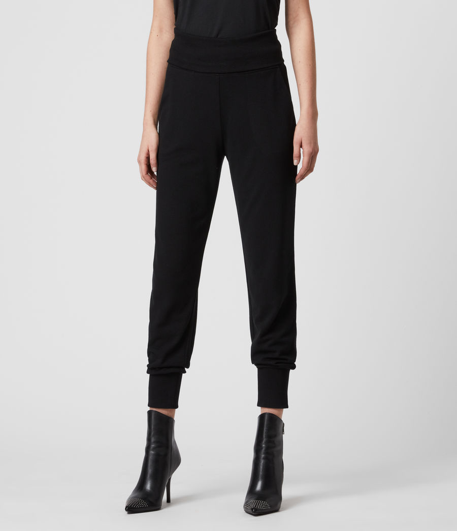 Womens Darcie Jogger (black) - Image 2