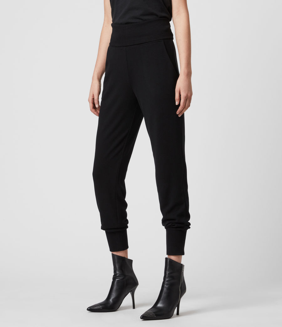Womens Darcie Jogger (black) - Image 3