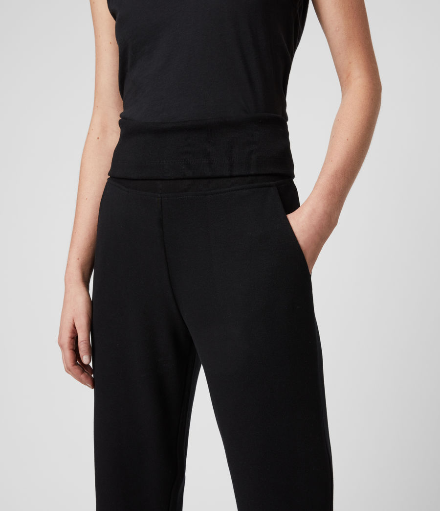 Womens Darcie Jogger (black) - Image 4