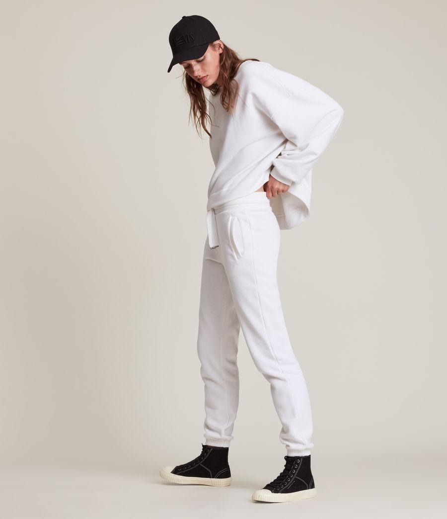 Women's Lila Cuffed Sweatpants (optic_white) - Image 5