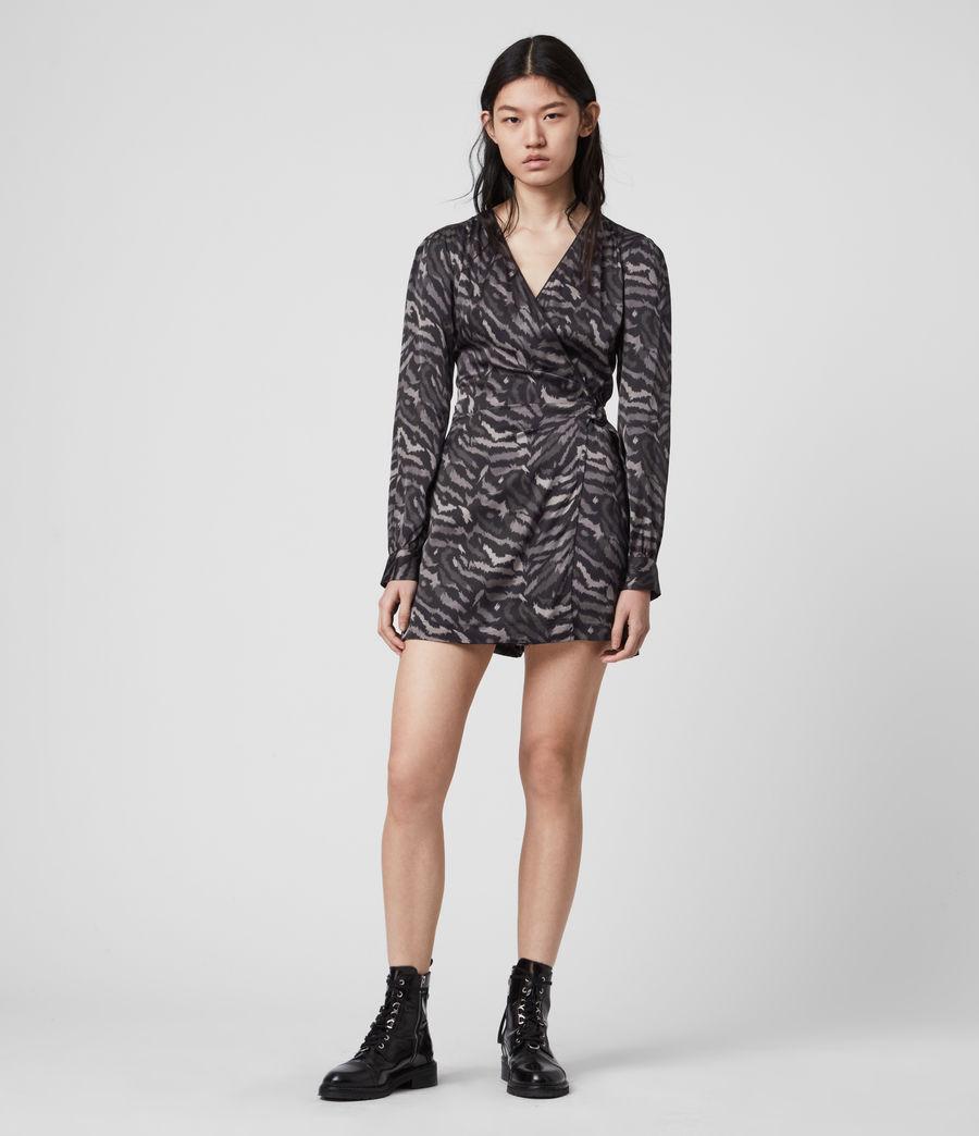 Women's Irina Remix Playsuit (grey) - Image 1